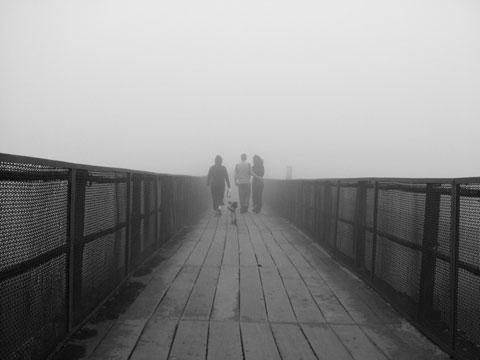 Ilha de Ilk Hata Nevoeiro_no_caminho