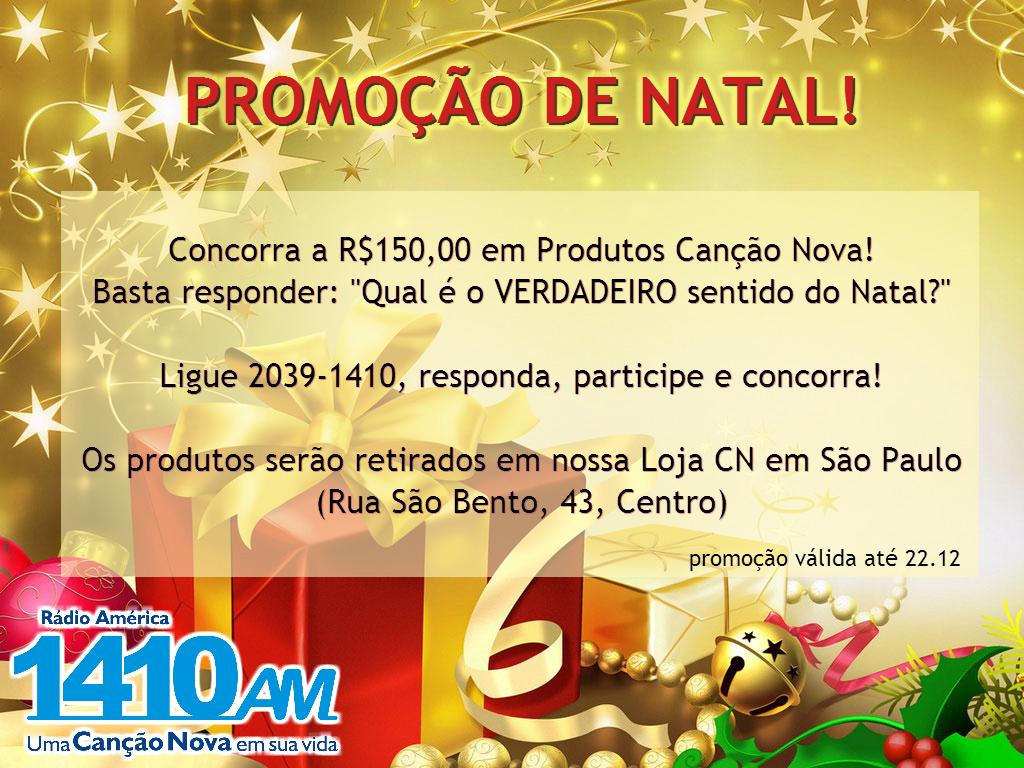 promoção CNAmerica