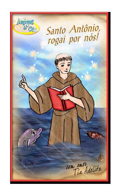 Viva Santo Antonio Amigos Do Ceu