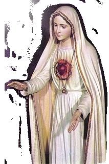 A devoção ao Imaculado Coração de Maria está estabelecida em nossa capela.