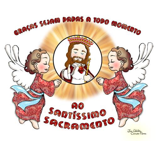 Vamos Festejar Corpus Christi Amigos Do Ceu