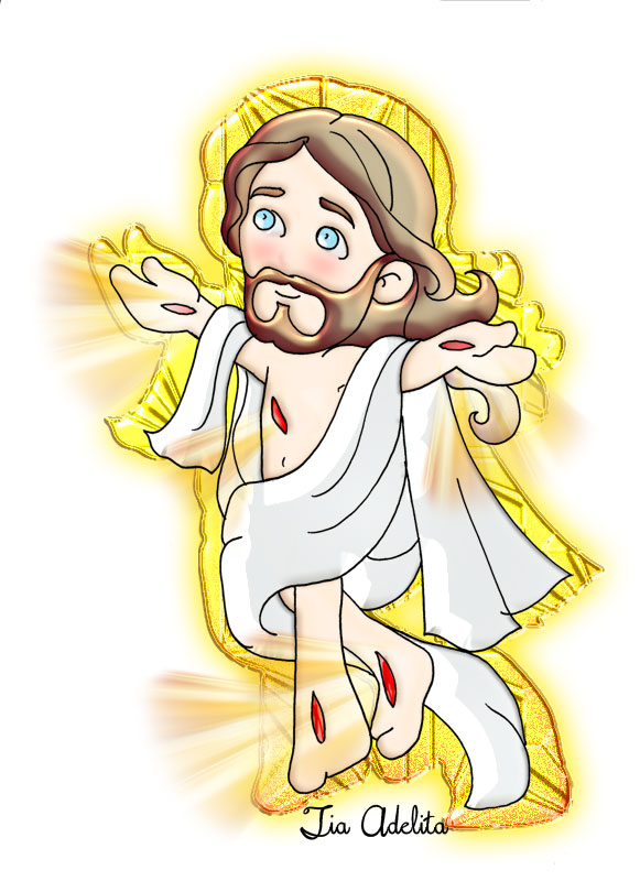 Viva Jesus Ressuscitou Aleluia Amigos Do Ceu