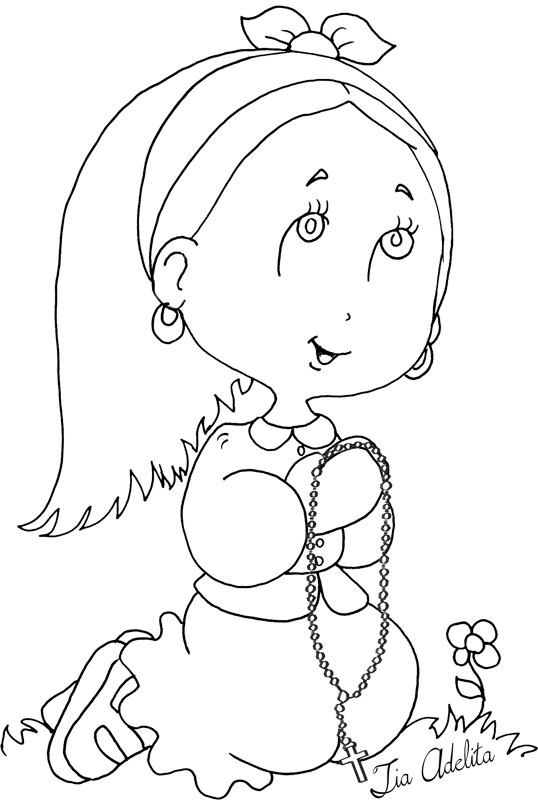 santa lucia coloring pages - photo#11