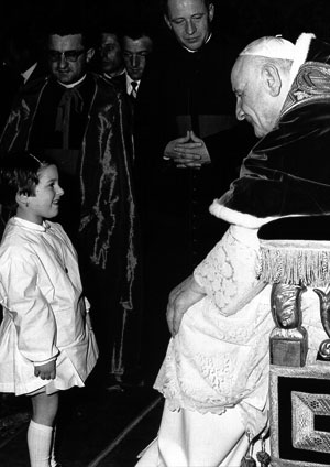 Papa João XXIII crianças 3