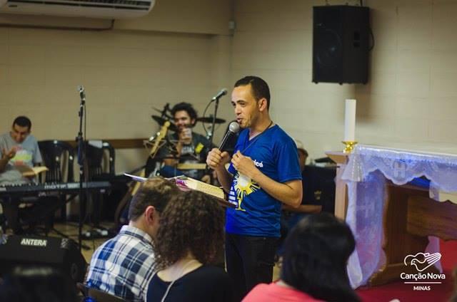 Eudes Duarte prega na Canção Nova Minas