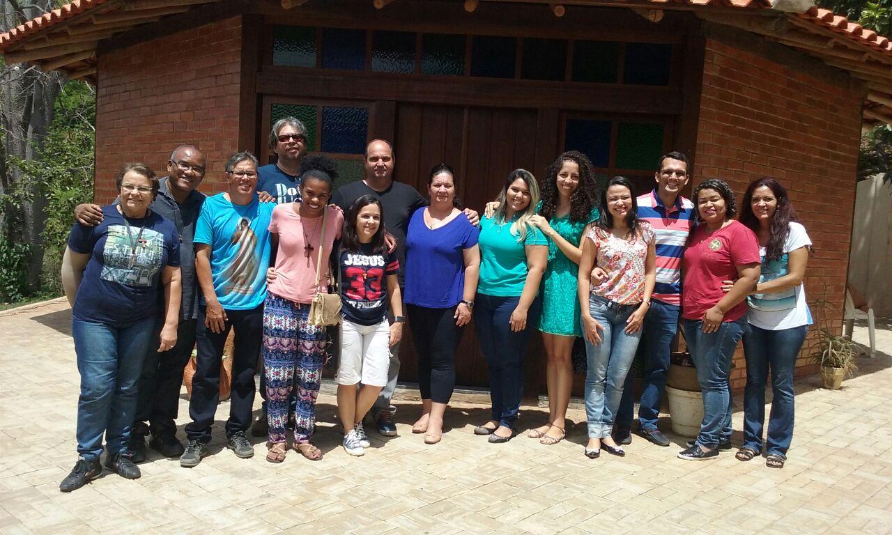 Primeira reunião do grupo de amigos em Montes Claros