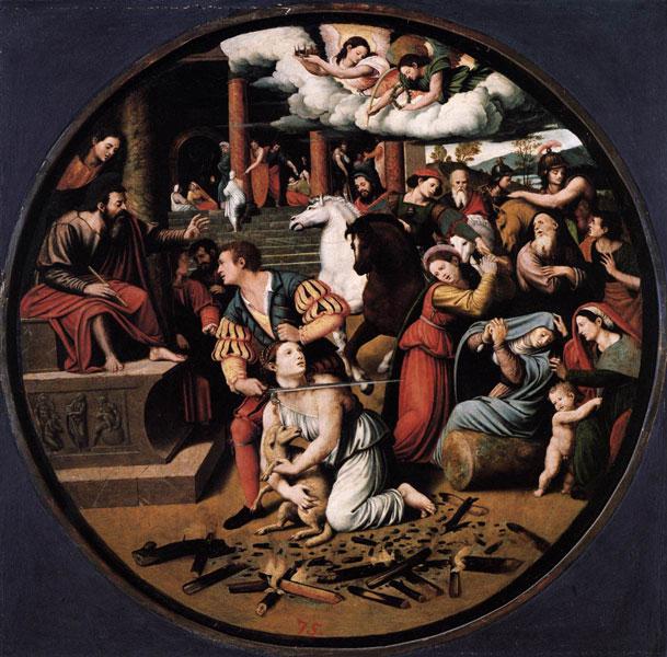 Mártirio de Santa Inês