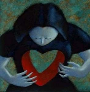 pessoa  buraco  coração
