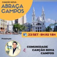 Dia 23 de setembro, Canção Nova abraça Campos!
