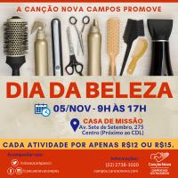Dia 5/NOV tem Dia da Beleza na CN Campos!!!
