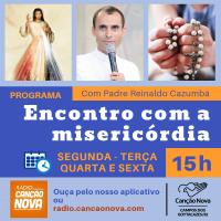 Novidade na Web Rádio Canção Nova Campos!