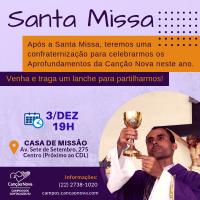 Convite para Santa Missa!