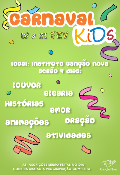 banner carnaval Kids