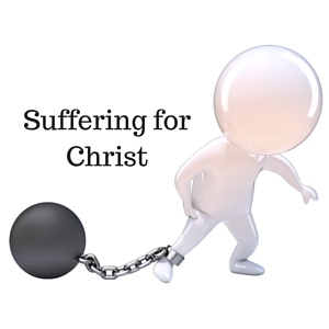 Suffering forChrist