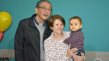 O dia que o neto deu um novo sentido à vida do seu avô