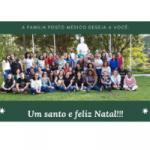 Um santo e feliz natal são os votos da família posto médico padre pio