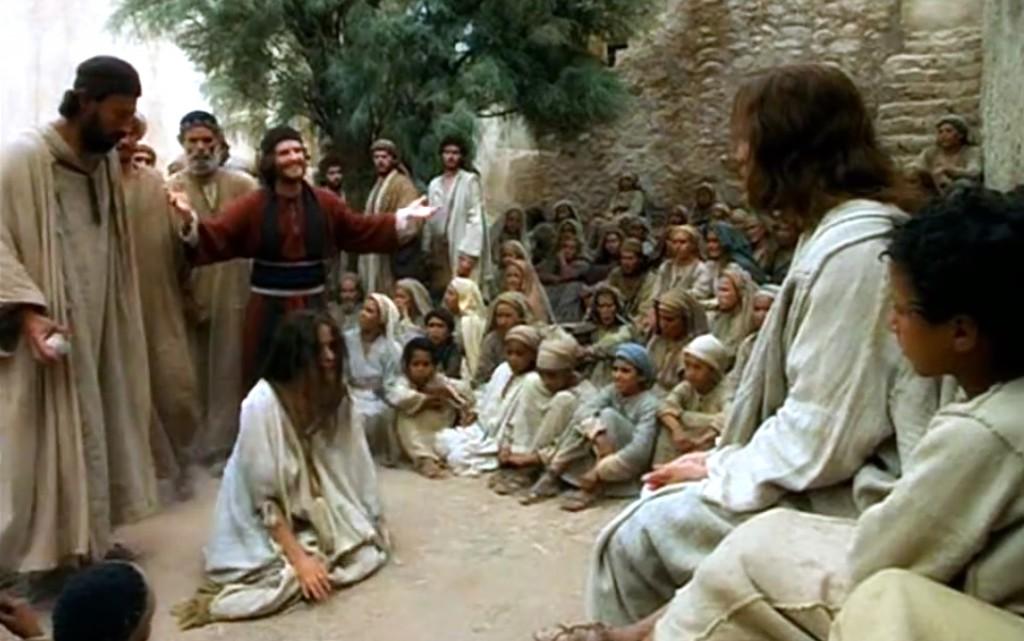 Resultado de imagem para JESUS E A MULHER ADULTERA