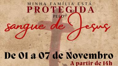 Cerco de Jericó Minha família está protegida pelo sangue de Jesus!