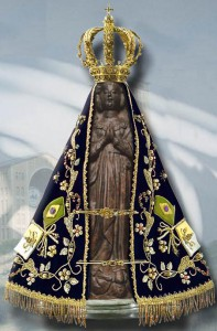 Dia 12 de Outubro, Dia de Nossa Senhora Aparecida.