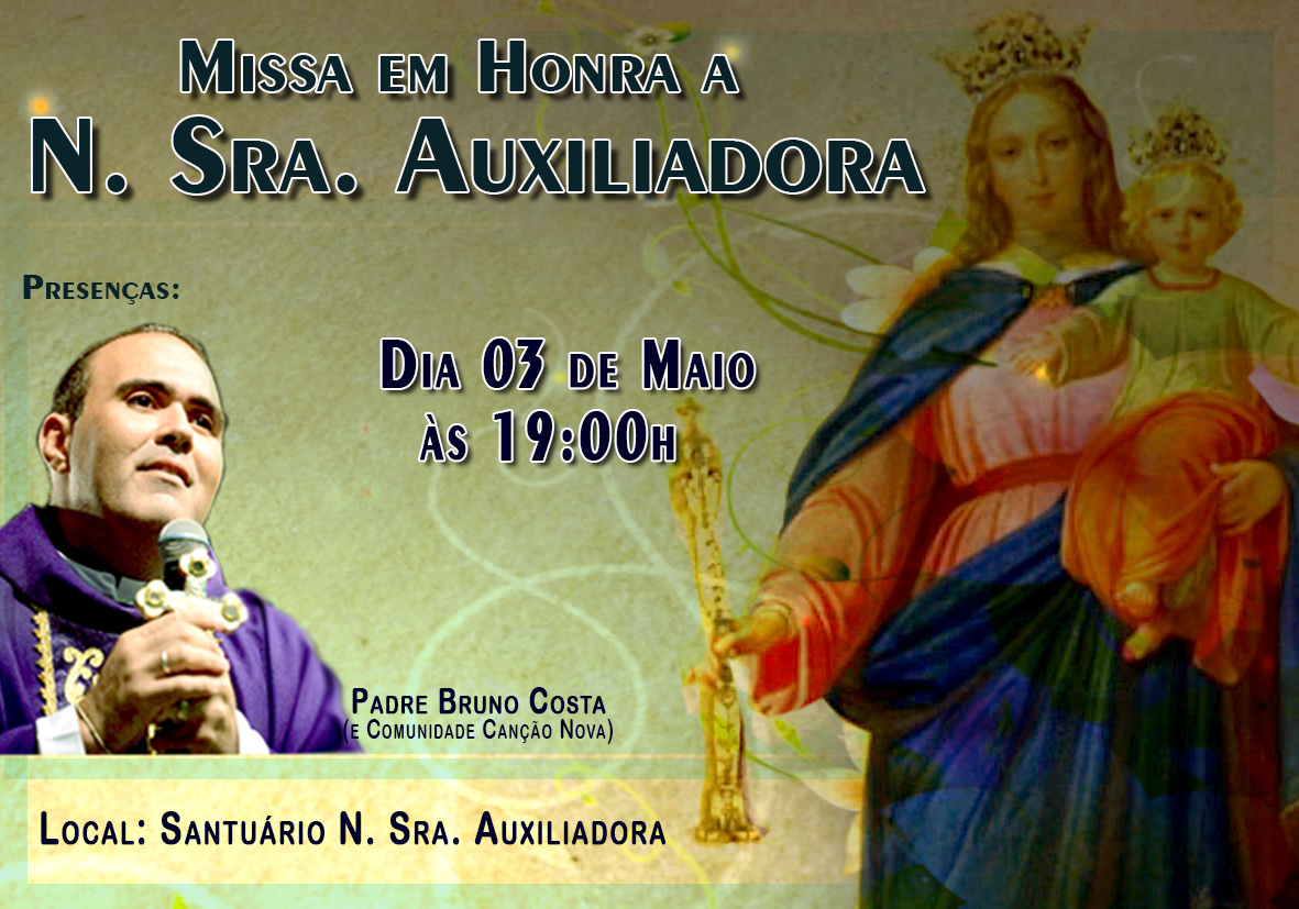 Convite N Sra Auxiliadora