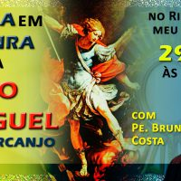 Flyer Missa São Miguel