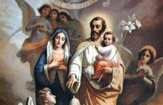 Entronização do Quadro do Glorioso São José