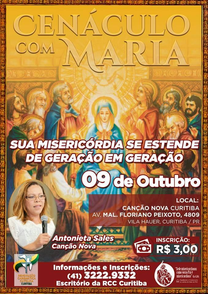 Cenáculo com Maria da RCC