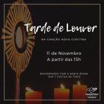 Programação da Tarde de Louvor na Canção Nova Curitiba