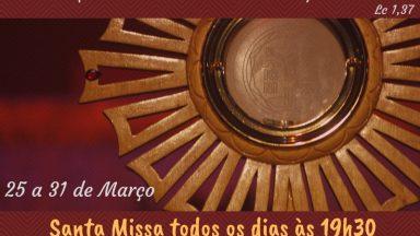 Cerco de Jericó com Vigília de Oração e Tarde de Louvor (25 a 31 de Março)