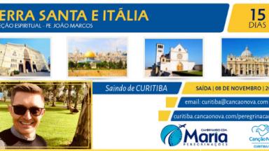 Peregrinação para Terra Santa e Itália saindo de Curitiba