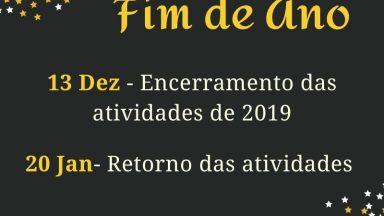 Recesso de Fim de Ano - Canção Nova Curitiba