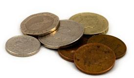 moedas, dinheiro, renúncia, pregação, anúncio