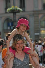 Criança em Milão