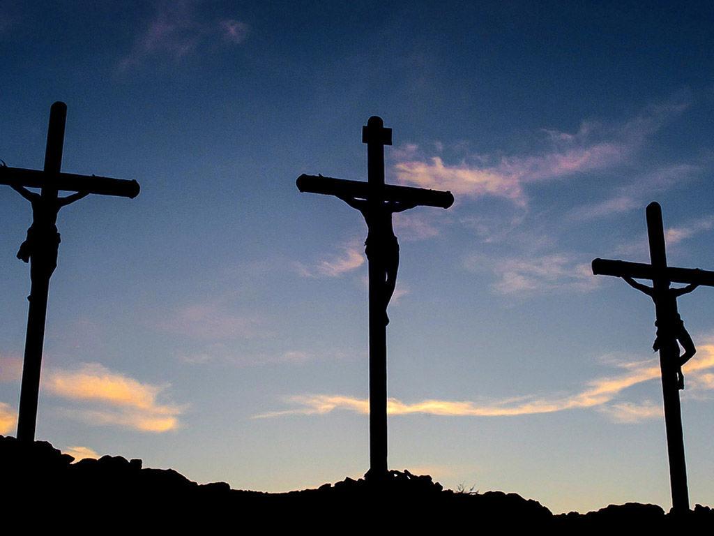 A crucificação de Jesus I Leia o texto: Lc 23, 26-43