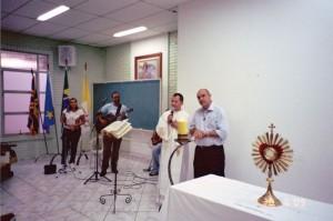 Adoração com Padre Jair na Sagrado Coração de Jesus Campo Grande MS