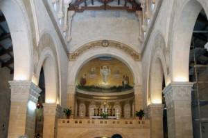 Interior da Basílica da Transfiguração