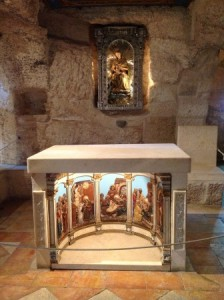 Altar Gruta do Leite