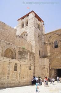 Entrada da Basílica do Santo Sepulcro