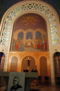 Altar central do Santuário de São Pedro Galicantu
