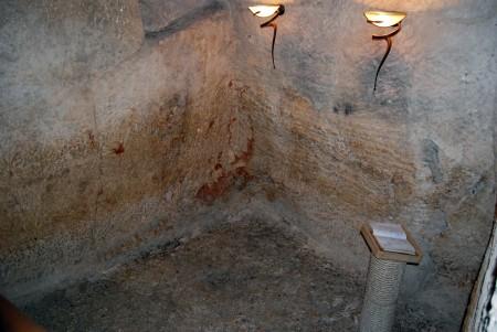 Local onde Jesus ficou encarcerado