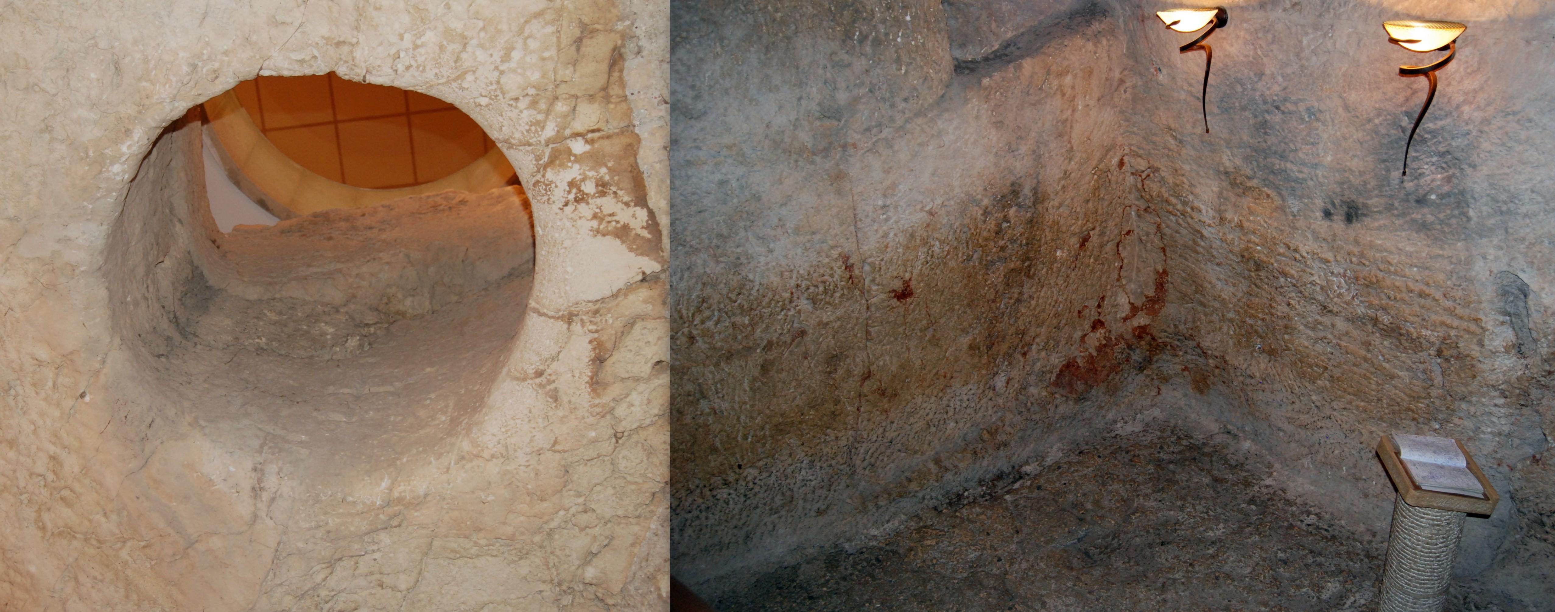 Cárcere onde Jesus passou a noite da Quinta-feira Santa
