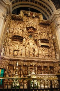 Altar da Catedral de Nossa Senhora del Pilar