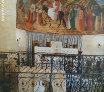 Foto da Igreja de Betfagé - Hosana ao Rei Jesus