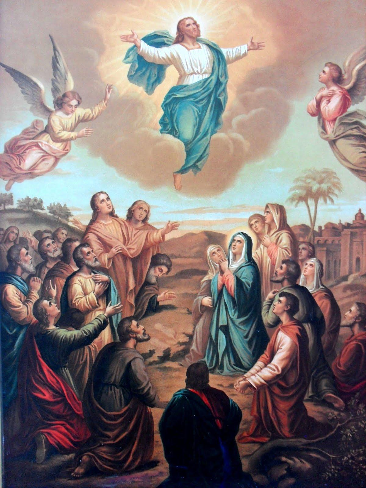 Resultado de imagem para Ascensão de Jesus