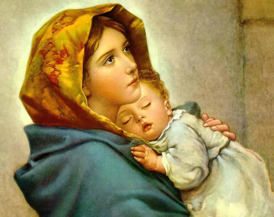 """"""" Deus juntou todas as águas e fez o mar; Deus juntou todas as graças e fez Maria """"     Ir. Kelly Patrícia"""
