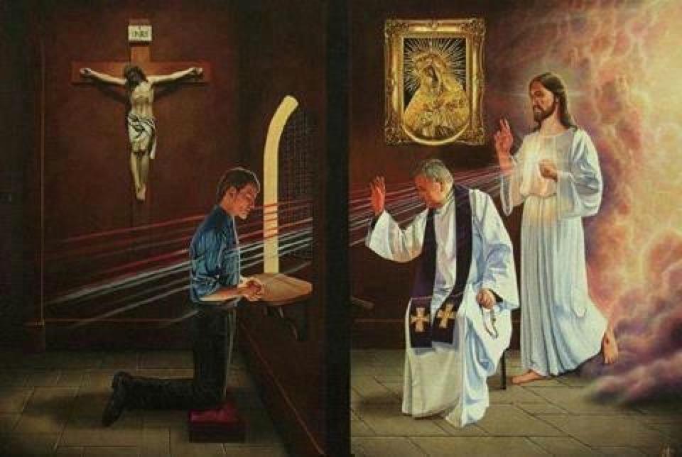 Resultado de imagem para Por que se confessar?