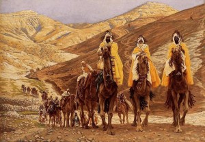 'The Journey of the Magi' (1894), James Jacques Joseph Tissot (french, 1836-1902)