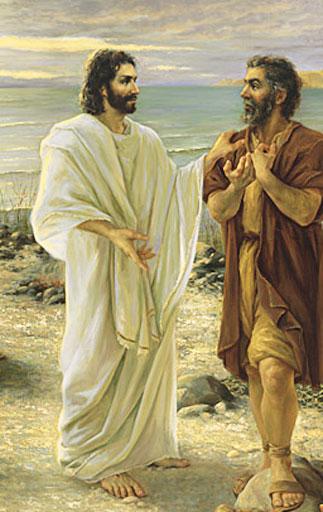 Resultado de imagem para Por que será que Jesus perguntou a Pedro três vezes se ele o amava?