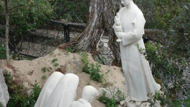 Os três pastorinhos de Fátima e o Anjo da Paz