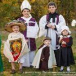 Ideias para celebrar a Festa de todos os Santos com as crianças
